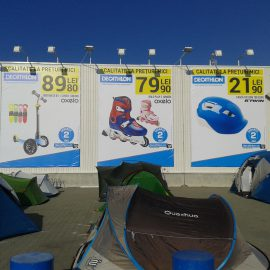 DECATHLON-Decorare fațadă