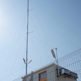 EOLIANĂ CIUGUD-Montare antenă