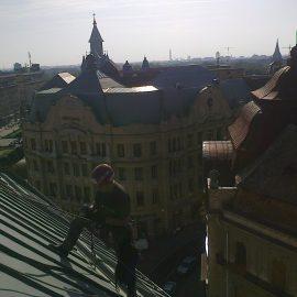 HOTEL TIMIȘOARA-Montare sistem degivrare