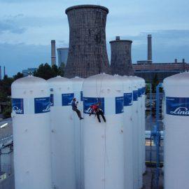 LINDE ARCELOR MITTAL-Decorare rezervoare gaz