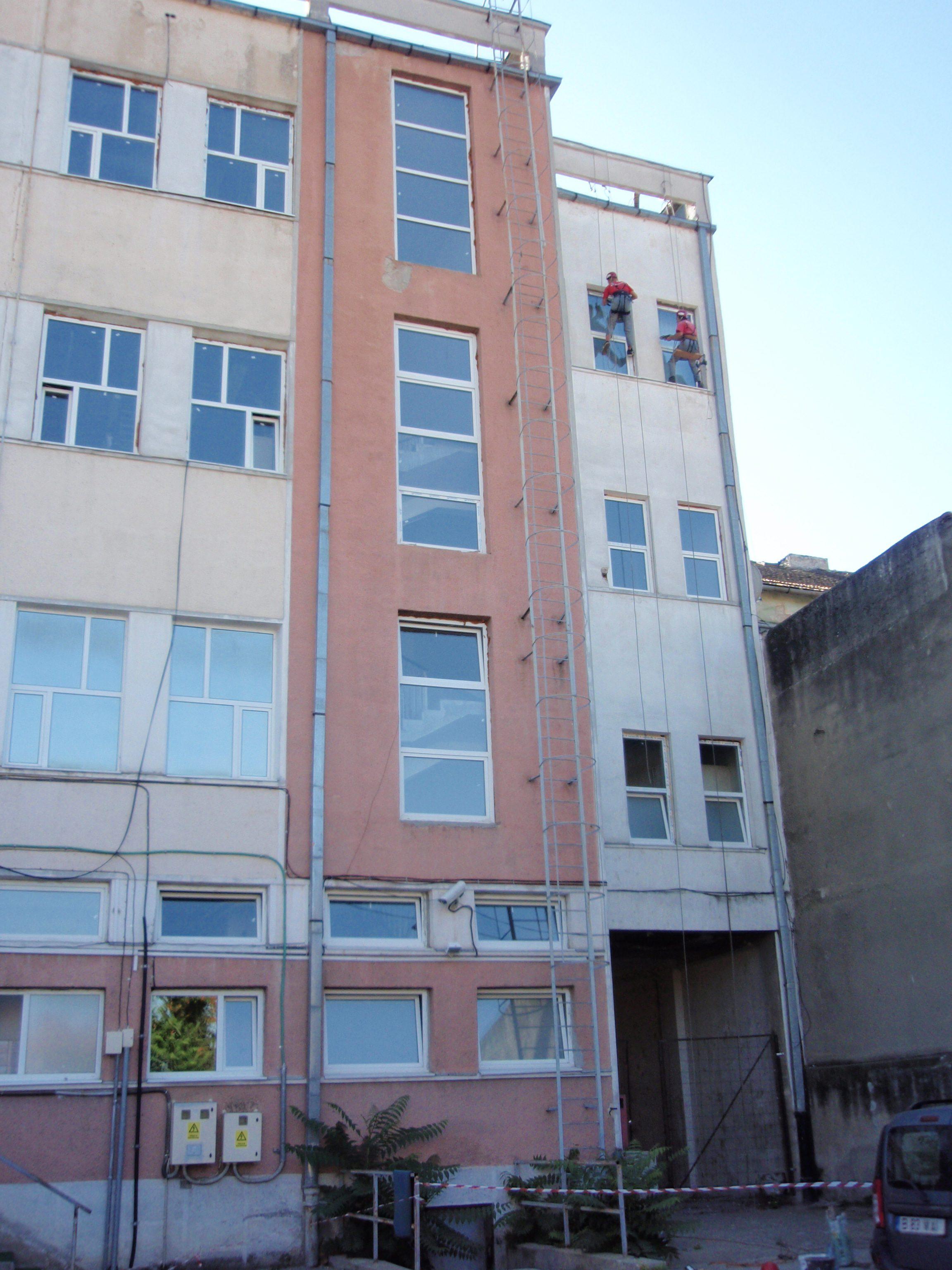 ROMTELECOM ARAD-Renovare fațadă